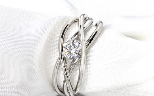 加工事例:ダイヤモンドリング・リフォーム